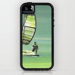 Green Twilight iPhone Case
