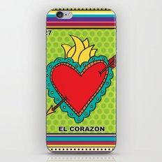 El Corazon iPhone & iPod Skin