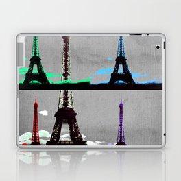 Paris, Eiffel Tower - Pop Art Laptop & iPad Skin