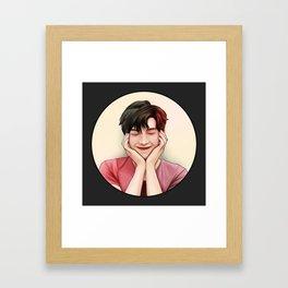BTS RM CUTE Framed Art Print