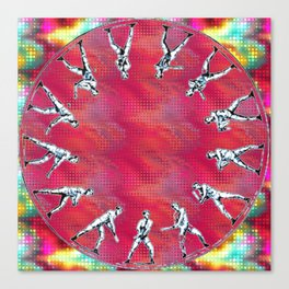 zoopraxiscope man Canvas Print