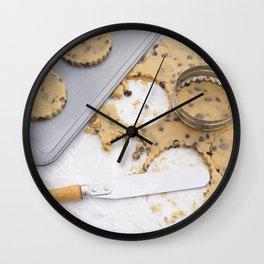 Making cookies Wall Clock