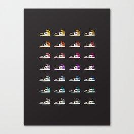 Air Jordan 1 Canvas Print