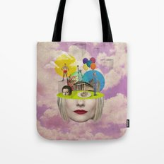 Modern Vintage Collection -- Uncertainty Tote Bag