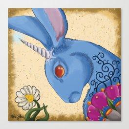Unicorn Bun Canvas Print