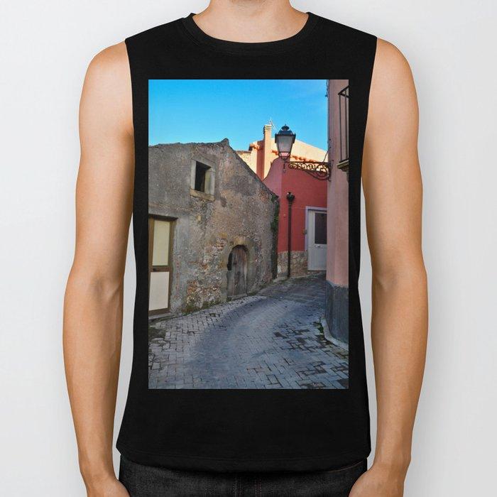 Sicilian Medieval Village (The Godfather/ Francis Ford Coppola/1971) Biker Tank