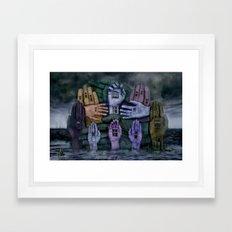 Another World 6  Framed Art Print