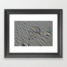 S + C Framed Art Print