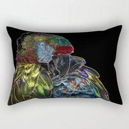 Magic Parrot Rectangular Pillow