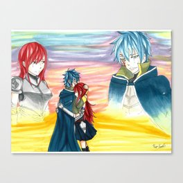 Sunset Embrace Canvas Print