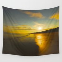 sunrise Wall Tapestries featuring Sunrise by Peaky40