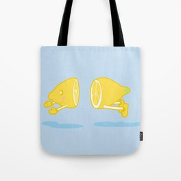 Catch the Half Lemon Tote Bag