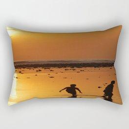 gili island sunset Rectangular Pillow