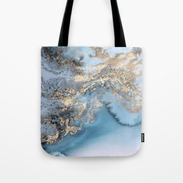 Gold immersion Tote Bag