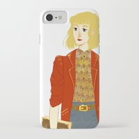 enjolras iPhone & iPod Cases featuring GENDERBENT : ENJOLRAS by Cy-lindric