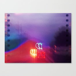 Light Traffic Canvas Print