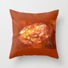 Born in Space  (A7 B0215) Throw Pillow