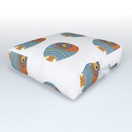 Fish art 21.2 Outdoor Floor Cushion