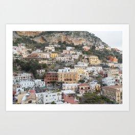 Positano, Amalfi Coast III Art Print