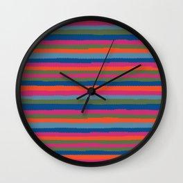 pinking shears Wall Clock