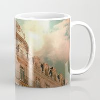 france Mugs featuring Montpellier  - France by Victoria Herrera