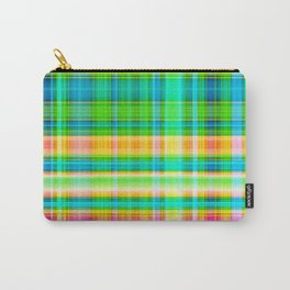 Plaid Nature Team Carry-All Pouch