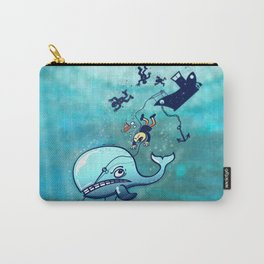Whales are Furious! Carry-All Pouch