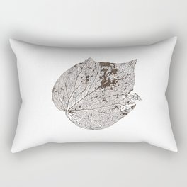 Skeleton leaf II Rectangular Pillow