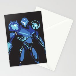 Dark Samus Simplified Stationery Cards