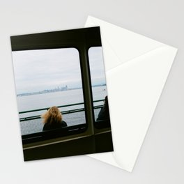 Seattle Skyline from the Ferry Stationery Cards