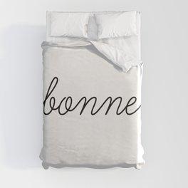 Bonne Nuit (1 of 2) Duvet Cover