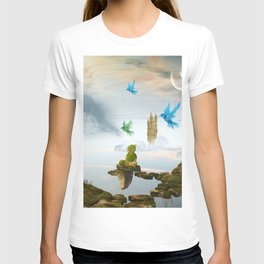 Elven with cute sleeping baby T-shirt