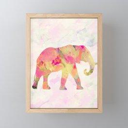 Abstract Elephant II Framed Mini Art Print