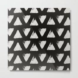 Triangle Pattern II Metal Print