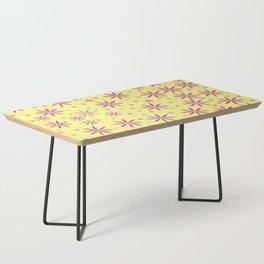 Purple flowers Coffee Table