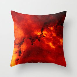 Star clusters and galaxies Throw Pillow