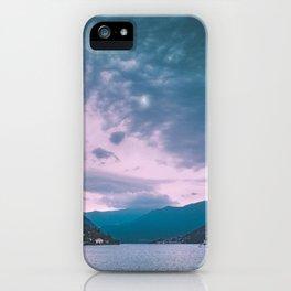 Lake Como iPhone Case
