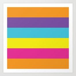 Gender Non-Binary Pride Art Print