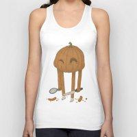 pumpkin Tank Tops featuring Pumpkin by Gabor Nemethi
