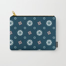 Seamless abstract floral pattern Carry-All Pouch