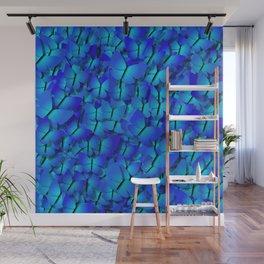 blue butterflies Wall Mural