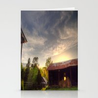 tennessee Stationery Cards featuring Tennessee Sunset by Terbo