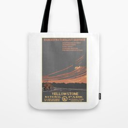 National Parks 2050: Yellowstone Tote Bag