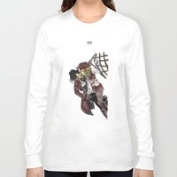 pirates Long Sleeve T-shirts featuring PIRATES. by Maryne.
