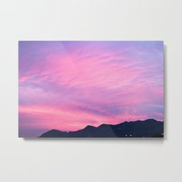 Pink Hues Metal Print