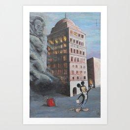 Bank of Babel Art Print