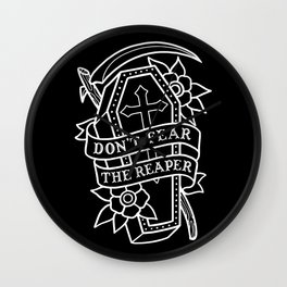 Don't Fear the Reaper Wall Clock