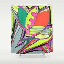 Libertad de Color Part 3 Shower Curtain