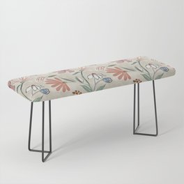 Monday Floral Bench