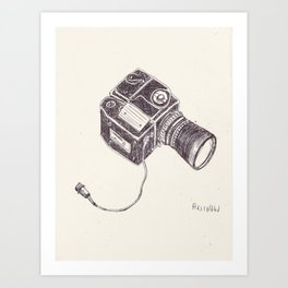 The Hasselblad Art Print